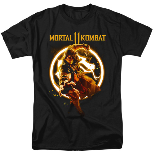 Image for Mortal Kombat XI T-Shirt - Scorpion Flames