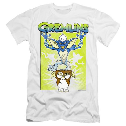 Image for Gremlins Premium Canvas Premium Shirt - Afraid