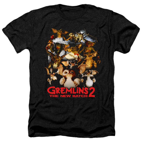 Image for Gremlins Heather T-Shirt - Gremlins 2 Goon Crew