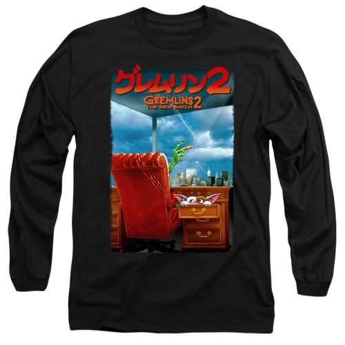 Image for Gremlins Long Sleeve Shirt - Gremlins 2 Poster