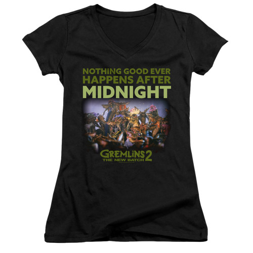 Image for Gremlins Girls V Neck - Gremlins 2 After Midnight