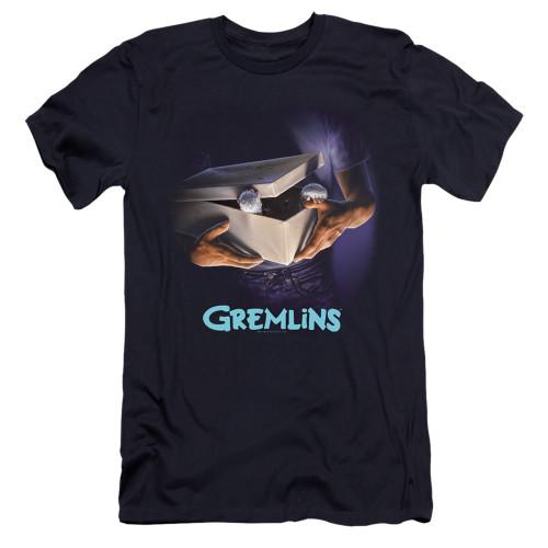 Image for Gremlins Premium Canvas Premium Shirt - Original Poster