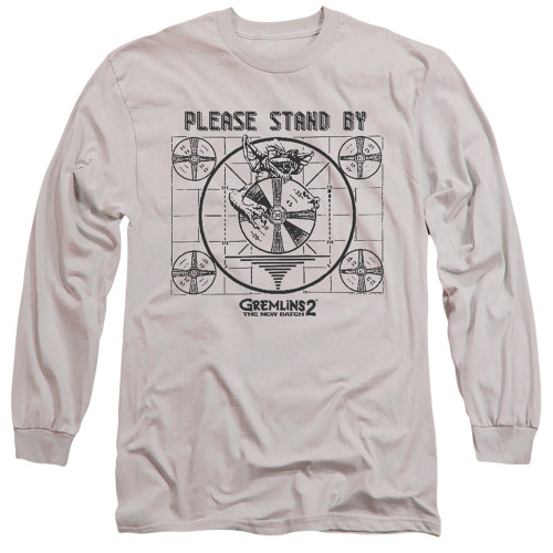 Image for Gremlins Long Sleeve Shirt - Gremlins 2 Please Stand By