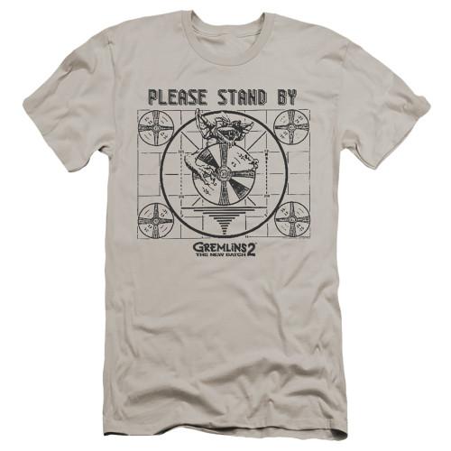 Image for Gremlins Premium Canvas Premium Shirt - Gremlins 2 Please Stand By