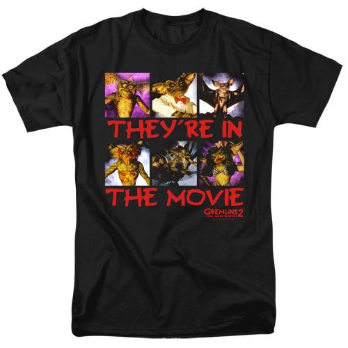 Image for Gremlins T-Shirt - Gremlins 2 In the Movie