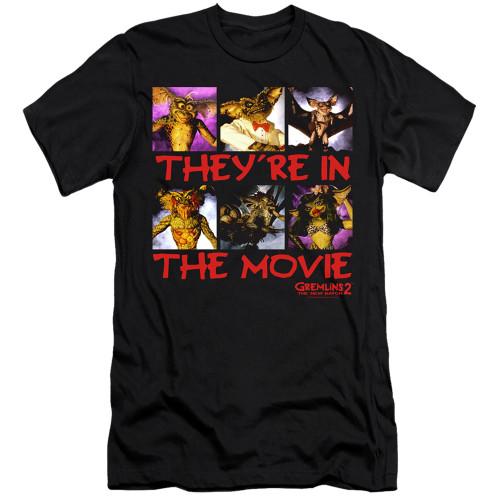 Image for Gremlins Premium Canvas Premium Shirt - Gremlins 2 In the Movie