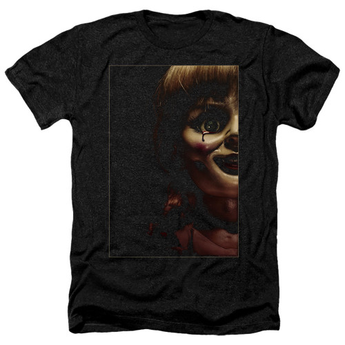 Image for Annabelle Heather T-Shirt - Doll Tear