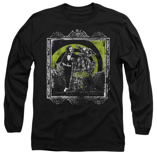 Image for Beetlejuice Long Sleeve Shirt - Here Lies