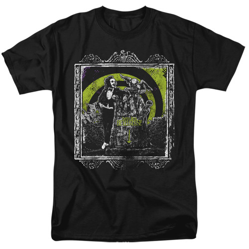 Image for Beetlejuice T-Shirt - Here Lies