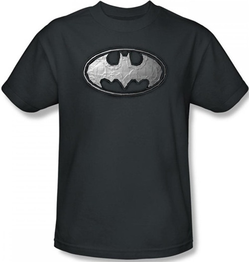 Image Closeup for Batman T-Shirt - Duct Tape Logo