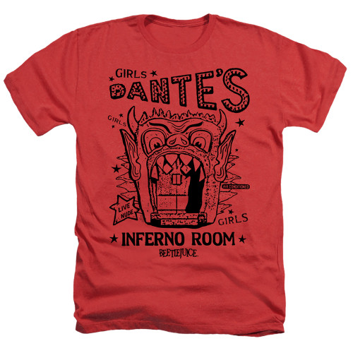Image for Beetlejuice Heather T-Shirt - Dante's Inferno Room
