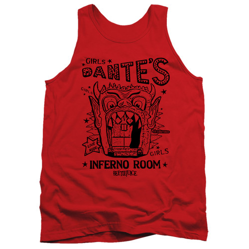 Image for Beetlejuice Tank Top - Dante's Inferno Room