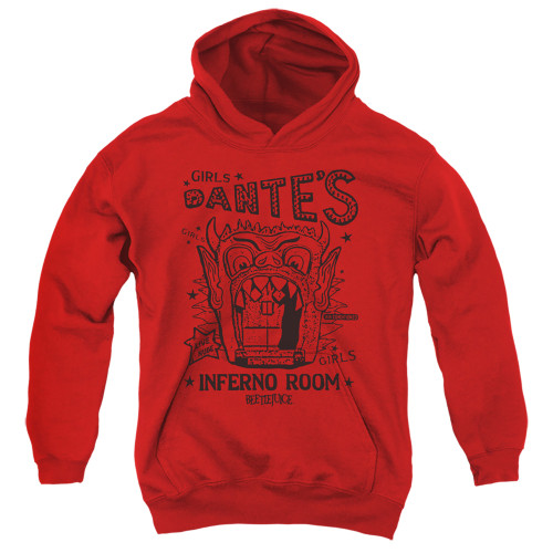 Image for Beetlejuice Youth Hoodie - Dante's Inferno Room