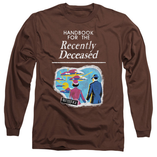 Image for Beetlejuice Long Sleeve Shirt - The Handbook