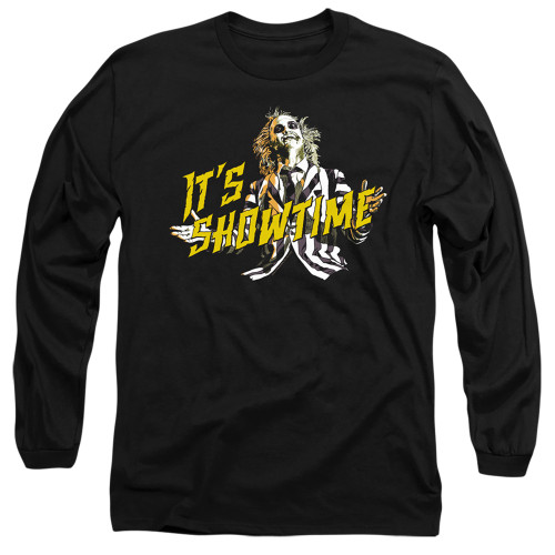 Image for Beetlejuice Long Sleeve Shirt - Showtime