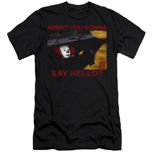 Image for It Premium Canvas Premium Shirt - 1990 Hello