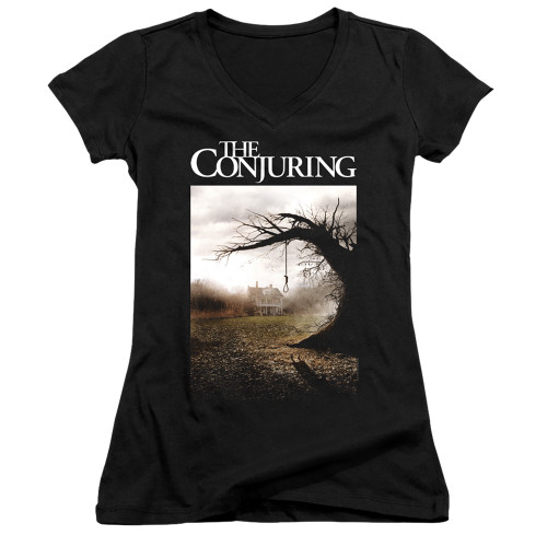 Image for The Conjuring Girls V Neck - Poster