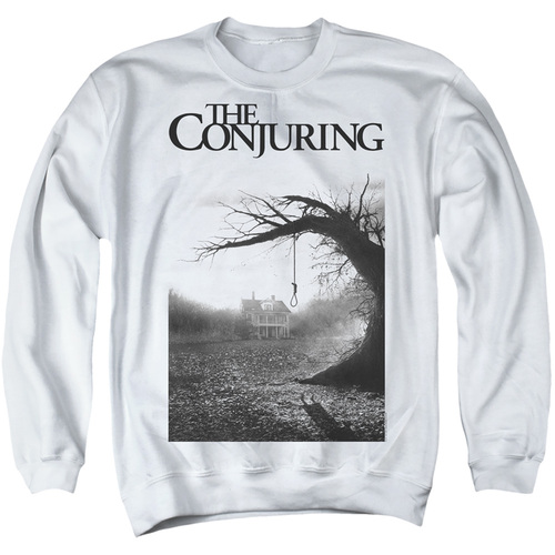 Image for The Conjuring Crewneck - Monotone Poster