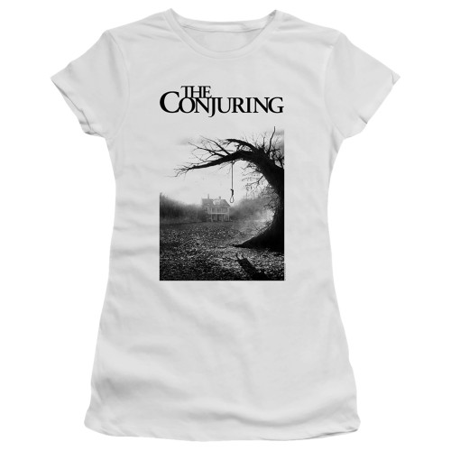 Image for The Conjuring Girls T-Shirt - Monotone Poster