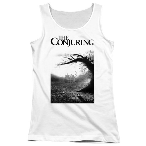 Image for The Conjuring Girls Tank Top - Monotone Poster
