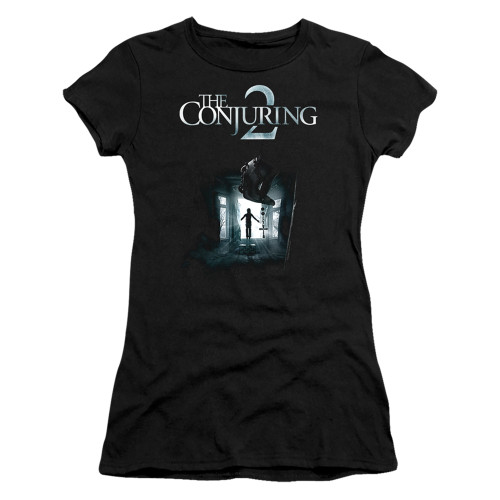 Image for The Conjuring Girls T-Shirt - Conjuring 2 Poster
