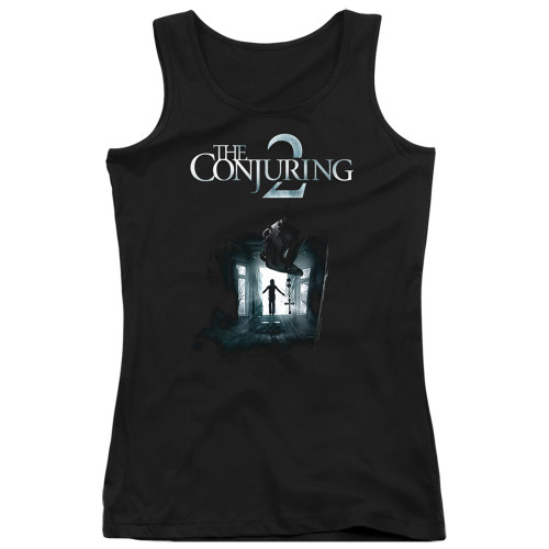 Image for The Conjuring Girls Tank Top - Conjuring 2 Poster