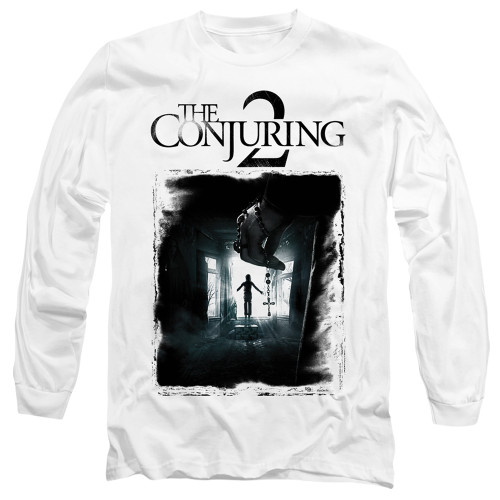 Image for The Conjuring Long Sleeve Shirt - Conjuring 2 Montone Poster