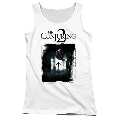 Image for The Conjuring Girls Tank Top - Conjuring 2 Montone Poster