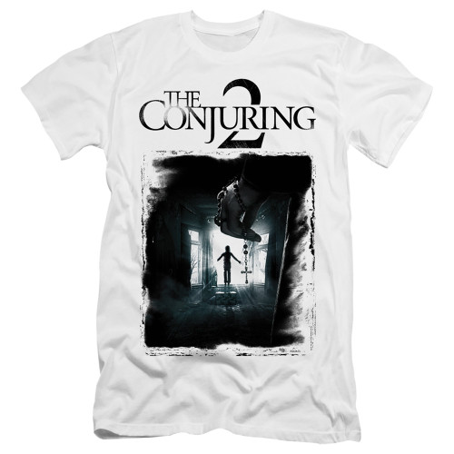 Image for The Conjuring Premium Canvas Premium Shirt - Conjuring 2 Montone Poster