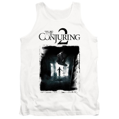 Image for The Conjuring Tank Top - Conjuring 2 Montone Poster