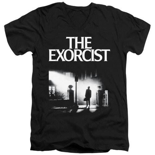 Image for The Exorcist V Neck T-Shirt - Poster