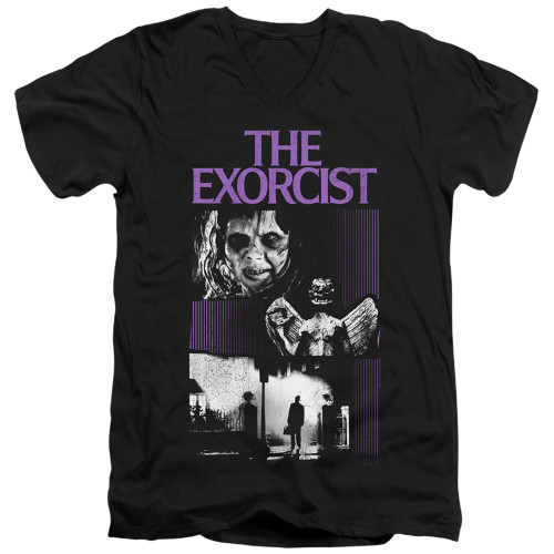 Image for The Exorcist V Neck T-Shirt - What an Excellent Day