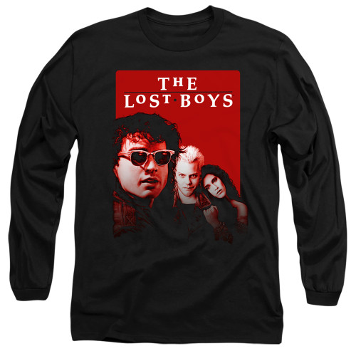 Image for The Lost Boys Long Sleeve Shirt - Michael David Star