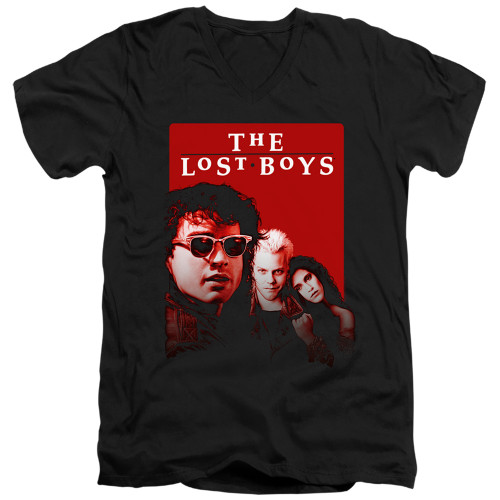 Image for The Lost Boys V Neck T-Shirt - Michael David Star
