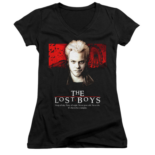 Image for The Lost Boys Girls V Neck - Be One of Us