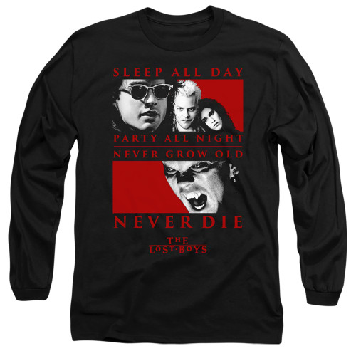 Image for The Lost Boys Long Sleeve Shirt - Never Die