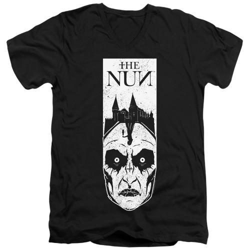 Image for The Nun V Neck T-Shirt - Gaze