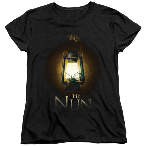 Image for The Nun Womans T-Shirt - Lantern