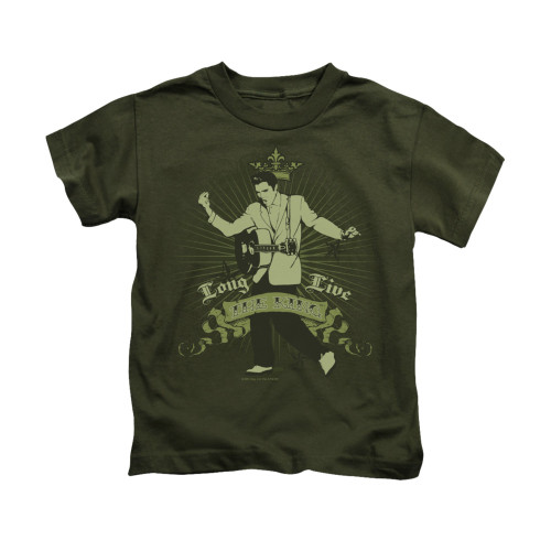 Image for Elvis Kids T-Shirt - Long Live the King