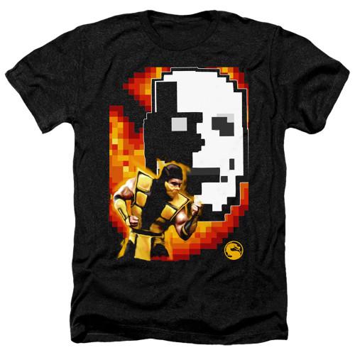 Image for Mortal Kombat Klassic Heather T-Shirt - Scorpion