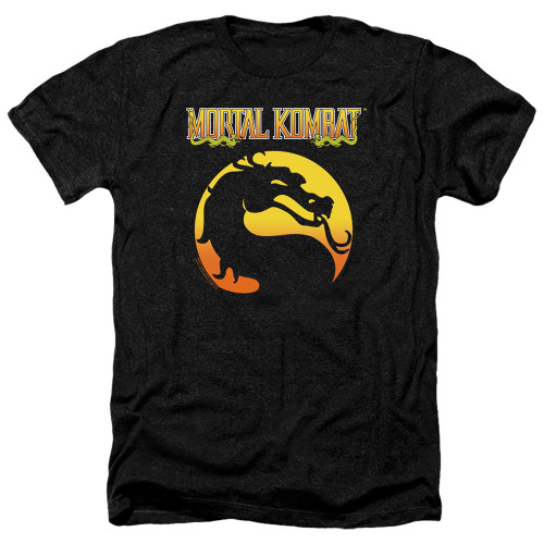 Image for Mortal Kombat Klassic Heather T-Shirt - Logo