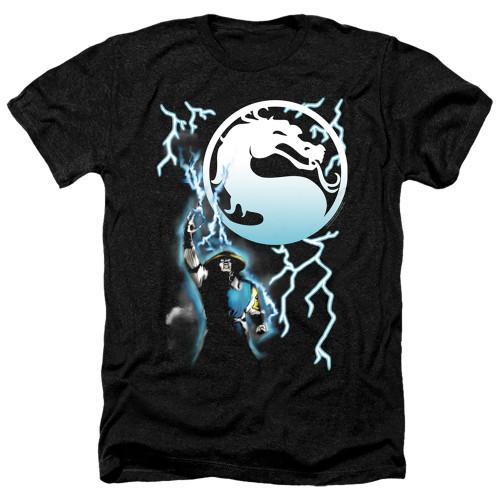 Image for Mortal Kombat Klassic Heather T-Shirt - Raiden