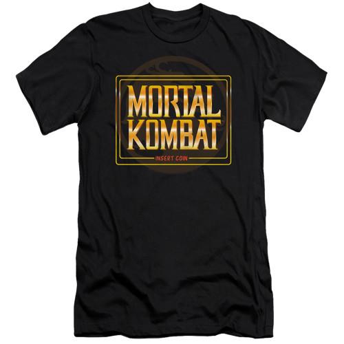 Image for Mortal Kombat Klassic Premium Canvas Premium Shirt - Coin