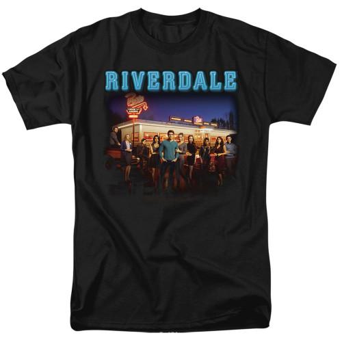 Image for Riverdale T-Shirt - Up at Pops