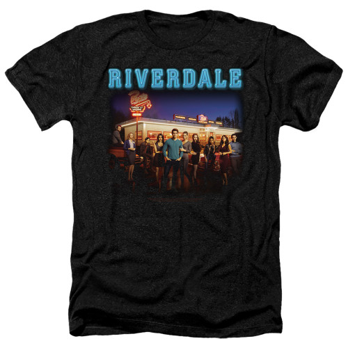 Image for Riverdale Heather T-Shirt - Up at Pops