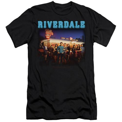 Image for Riverdale Premium Canvas Premium Shirt - Up at Pops