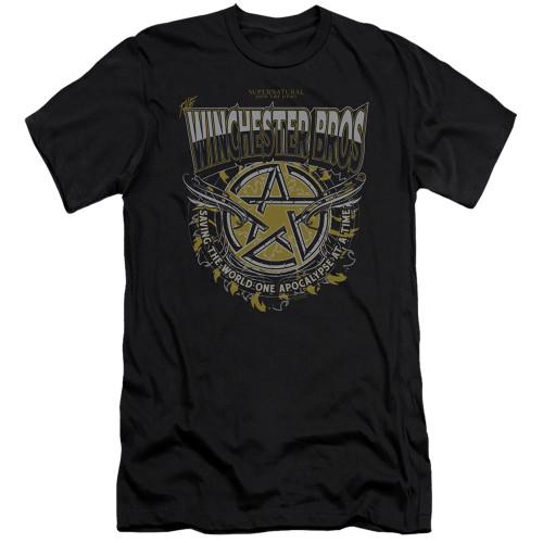 Image for Supernatural Premium Canvas Premium Shirt - Winchester Bros