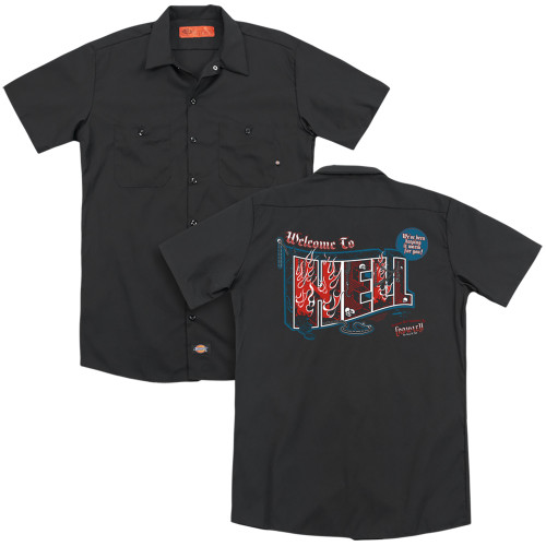 Image for Supernatural Dickies Work Shirt - Welcome