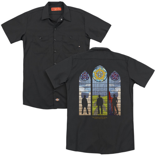 Image for Supernatural Dickies Work Shirt - Stained Glass