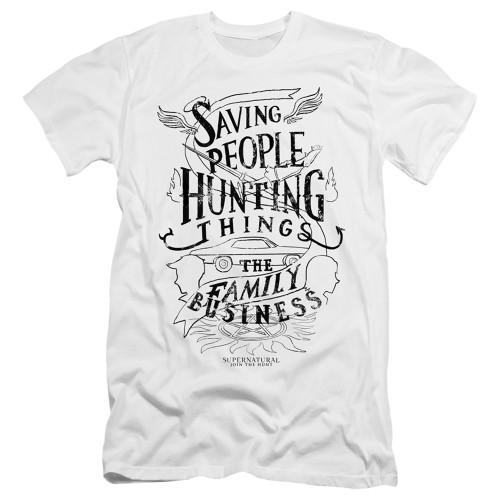 Image for Supernatural Premium Canvas Premium Shirt - Family Business